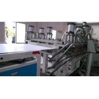 260kw Plastic Sheet Making Machine , PVC Foam Board Production Line Manufactures