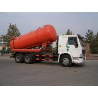 Sinotruk HOWO Vacuum Suction Truck With Jetting Cleaning KEG Pipe Nozzle 12m3 Tanker Manufactures
