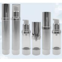 Buy cheap Airless pump bottle gold frosted airless sprayer bottle 15ml 30ml 50ml 100ml from wholesalers