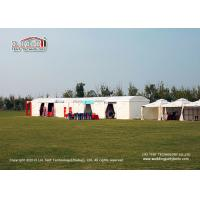 China Luxury Sporting Event Tents For Trade Shows Flame Retardant To DIN4102 B1 on sale