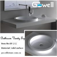 China Acrylic Bathroom Countertop on sale