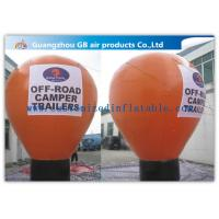 6m Inflatable Large Helium Balloons For Advertising On Floor CE / UL Certificate Manufactures