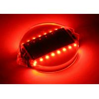 Raised Pavement Solar Road Markers , PC Shell Waterproof Traffic Lane Markers16 LEDs Manufactures