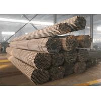 Black 20mm - 200mm Q235 Seamless Carbon Steel Pipe With High Tensile Strength Manufactures