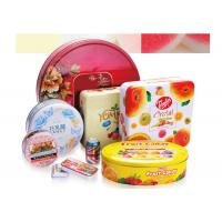 Tin Can Custom Packaging Boxes 0.19-0.35mm Tinplate Material RHOS Approval Manufactures