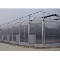 Simple Solar PV System Hydroponic Tunnel Polycarbonate Sheet Excellent Strength Manufactures