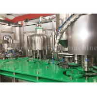 Rotary Glass Bottle Filling Machine Mango Juice Bottling Packaging Plant 4.23kw Manufactures