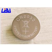 Primary Lithium Cell Battery , 240m Ah Rechargeable Coin Cell Battery 3 Volts Manufactures