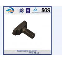China Hot Dip Galvanized HS26 / HS32 Railway Bolt Railroad Fasteners on sale