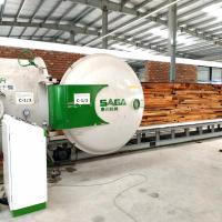 China Fast Wood Dryer With High Frequency And Vacuum Drying System For Hardwood Drying on sale