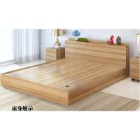Quality Low Price Modern minimalist type 1.2 meters 1.5 meters 1.8 meters double bed containing Japanese tatami bed storage. for sale