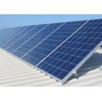 China Blue Polycrystalline Silicon Solar Panel , Solar Pv Modules For Industrial on sale
