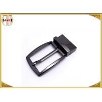 Simple Reversible Custom Metal Belt Buckles With Die-Casting Plating Manufactures