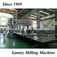 Buy cheap High Speed Gantry Milling Machine Strong Rigidity With Boring Drilling from wholesalers