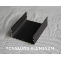 Powder Coated Aluminium Profile For Curtain Wall Frame Champangn , Bronze Manufactures