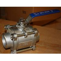 Class 1000 WOG Full  Bore Type Ball Valve As MSS SP-110 Standard Manufactures
