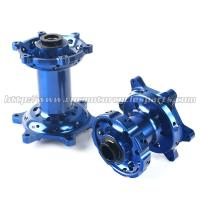 China Colored Lightweight Dirt Bike Wheel Hubs Never Mounted For Off Road Bike on sale