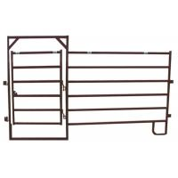Lightweight Horse Corral Panels Welded Wire Stock Type ISO9001 Approval Manufactures