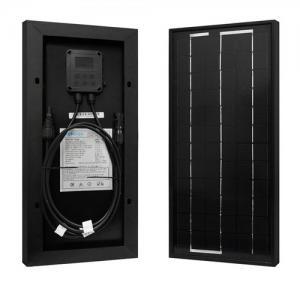 China Black Color Flexible Solar Panels Sunpower 3W 5W 10W 15W 20W High Power Capacity on sale