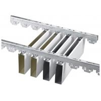 Quality U aluminum Profile Screen Ceiling , Professional Factory For Aluminum Linear Strip Ceiling for sale