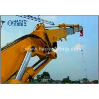 Hydraulic Telescopic Knuckle Boom Marine Provision Ship Crane For Sale Manufactures