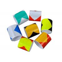 Trucks High Visibility Reflective Adhesive Tape Dot Checkered 0.27mm Thickness Manufactures