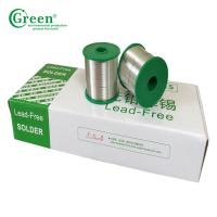 Super Lead Solder Tin Wire 0.3mm~2.0mm Pb50 / Sn50 With Melting Point 183℃ Manufactures