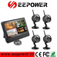 China 4CH Night Vision System Backup Camera Dvr With Monitor OV , Micro SD on sale
