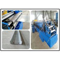 China Semi Automatic Ceiling Roll Forming Machine , C & Z Lip Channel Roll Forming Machine on sale