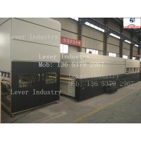 China Lever LV-TFB-L Series Flat and Bending Glass Tempering machine / Glass Tempering Machine on sale