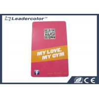 Customized PVC RFID Plastic Cards With Magnetic Strip QR Code Manufactures