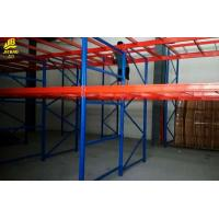 Quality Q235 Steel Heavy Duty Pallet Racking System , Anti Rust Industrial Warehouse Shelving for sale