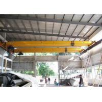 Single Beam Workstation Bridge Crane 20 Ton Safety Electric Cabin Pendant Control Manufactures