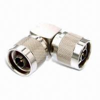 RF Connectors, N Plug Right Angle Adapter with Male Pin Manufactures