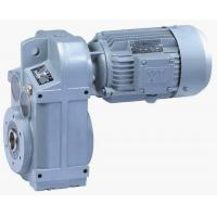 F Series Parallel Shaft Helical geared motor Manufactures