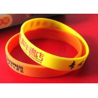High Safety Cool Silicone Wristbands Advertising Giveaways Delivery On Time Manufactures