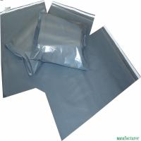 Post Office Grey Plastic Mailing Bags 30 - 100MIC Thickness Customized Color Manufactures