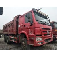 25 Tons Used Commercial Trucks , 6X4 371HP / 375HP Used Heavy Duty Dump Trucks Manufactures