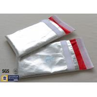 Fireproof Document Bag Envelope Non Irritating Heat Reflective Fiberglass Cloth Manufactures