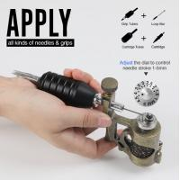 Precision Control Adjustable Needle Stroke 1 - 5mm Stonger Power  Electric  New Tattoo Machine Guns Manufactures