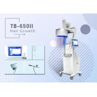 No Pain Diode Laser Hair Growth Machine For Hair Loss Treatment Three Wavelengths Manufactures