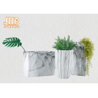 Quality Marbling Clay Flower Pots Fiberclay Plant Pots Large Pot Planters Clay Floor for sale