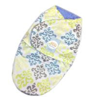 Smooth Textile Warmer Baby Swaddle Blankets 100% Polyester Berber Fleece Baby Wrap Manufactures