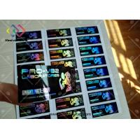 Waterproof Hologram Foil Stamp Steroids 10ml Bottle Labels For Pharmaceutical Manufactures