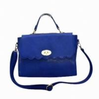 Women Business Pu Leather Handbag Of Genuine Leather , Winter / Autumn Tote Manufactures