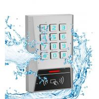 AK1 Metal Rfid Door Access Control 125kHz Proximity Card Password Keypad One Relay Manufactures