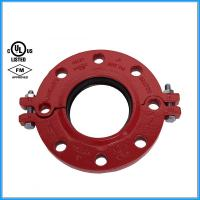 Ductile Iron Pipe Fittings Grooved Split Flange with FM UL Manufactures