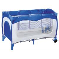 China good quality fasion design baby playpen come with zipper hole 2nd layer on sale