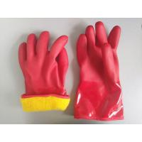 China Customized Size Chemical Protective Gloves Exceptional Dexterity And Fit on sale