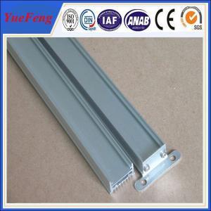 China aluminum extruder of building aluminium flooring profile with anodizing Manufactures